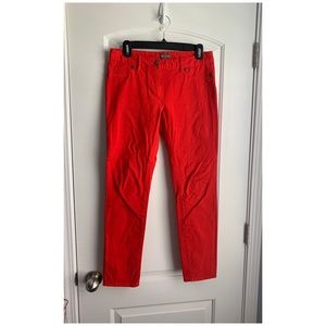 EUC Vince Camuto Red Jeans